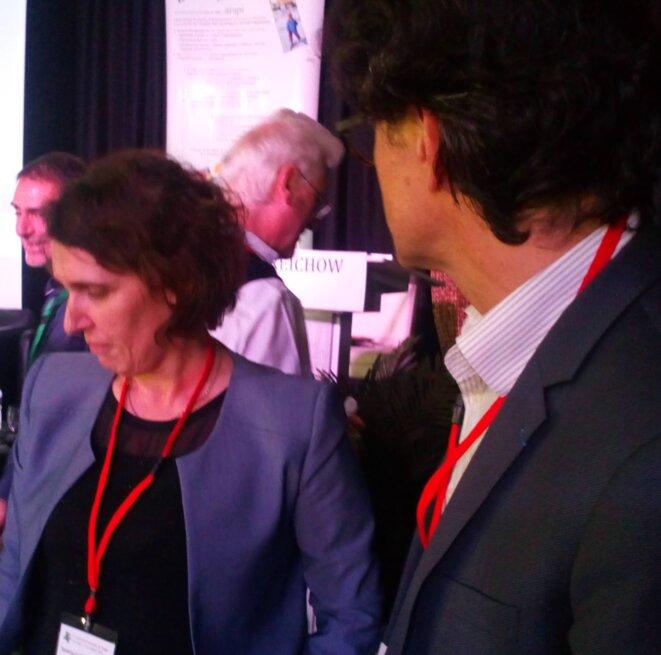 Sandrine Le Sourn-Biassaoui et Bertrand Monthubert à l'ARAPI octobre 2019