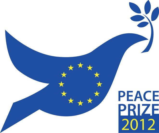 Union Européenne : Prix Nobel 2012 © Source : médiathèque CE — ID: P-022389/00-01