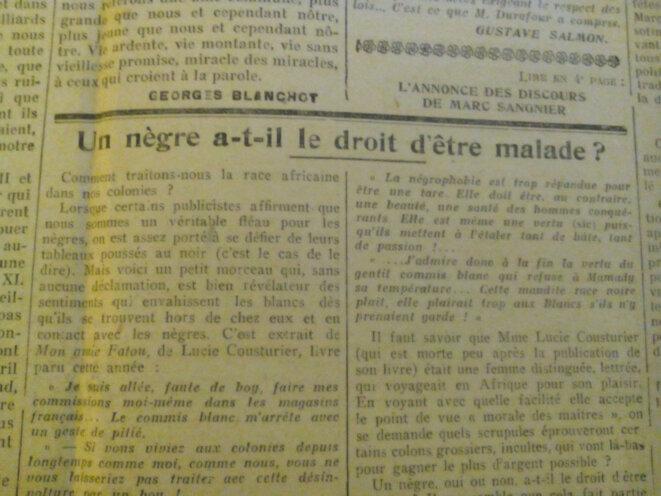 La Jeune-République, édition du 11 décembre 1925