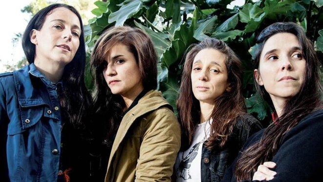 de gauche à droite : Elisa Carricajo, Pilar Gamboa, Valeria Correa et Laura Paredes. © DR