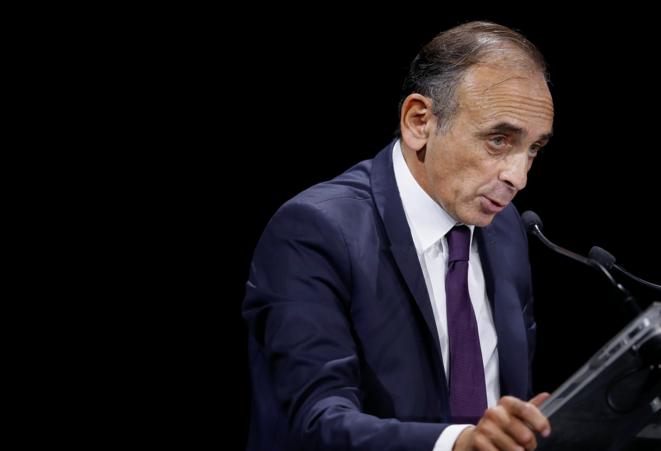 Éric Zemmour à la «Convention de la droite». © Reuters