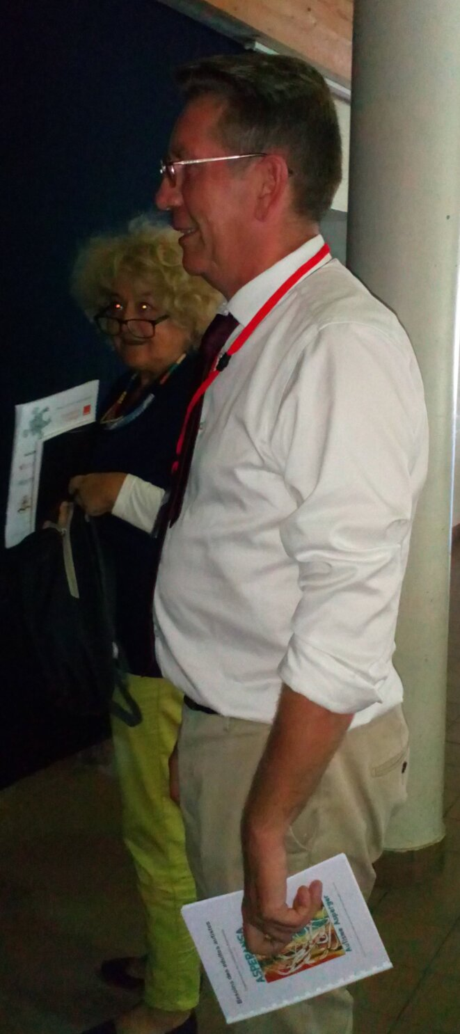 Laurent Delannoy à l'Université d'Automne de l'ARAPI