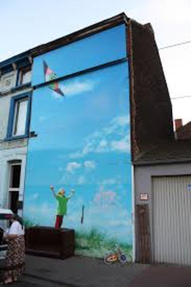Maison de Marc Dutroux à Marcinelle (région de Charleroi)