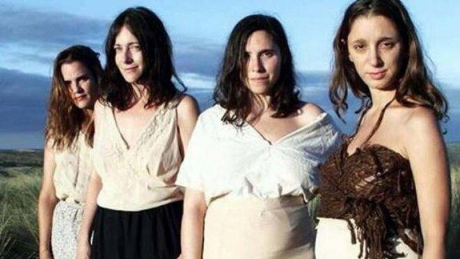 de gauche à droite : Pilar Gamboa, Elisa Carricajo, Laura Paredes et Valeria Correa © DR