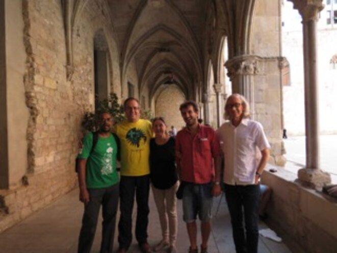 Les éditeurs: Arturo Escobar, Ahish Kothari, Ariel Salleh, Federico Demaria et Alberto Acosta.