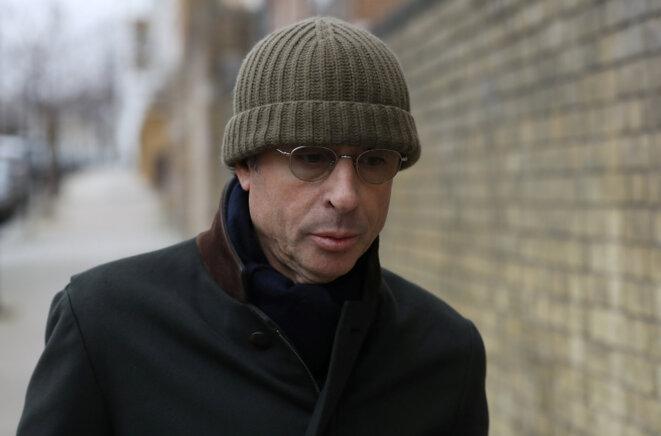 Alexandre Djouhri, à Londres, en janvier 2018. © Reuters