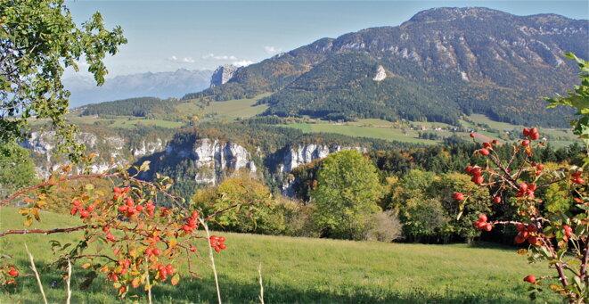 Massif du Vercors © Patrice Morel (octobre 2019)
