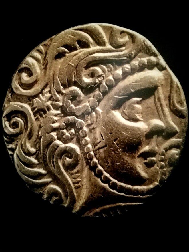 Monnaie des Parisii. Bélénos/Apollon