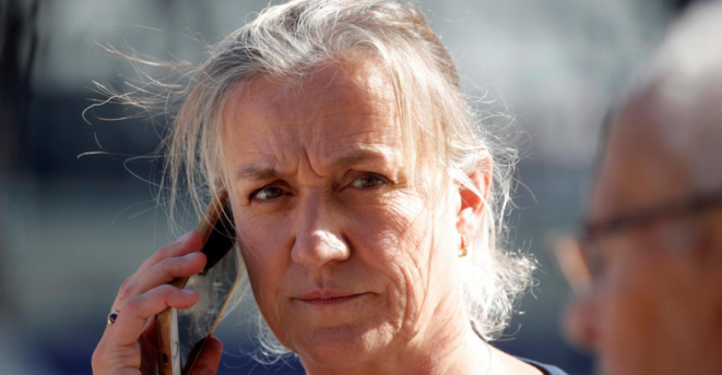 Irène Frachon, le jour de l'ouverture du procès du Mediator © Reuters