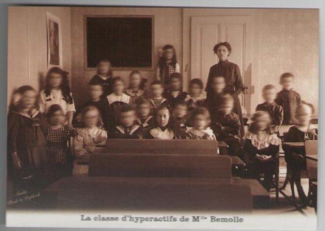 La classe d'hyperactifs de Melle Bémolle © Plonk et replonk