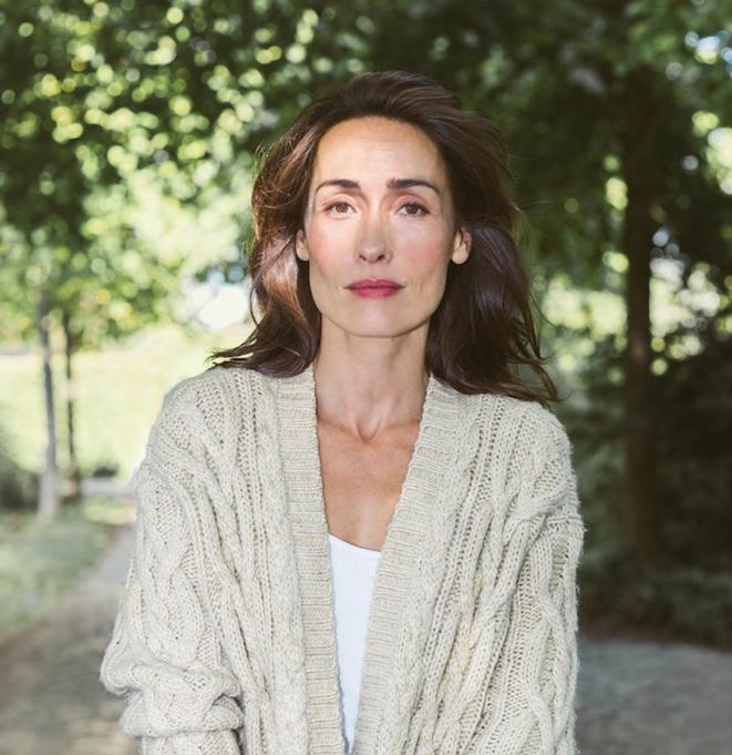 La comédienne Annelise Hesme. © Beatriz Moreno
