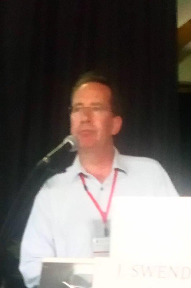 Joël Swendsen à l'Université d'Automne de l'ARAPI