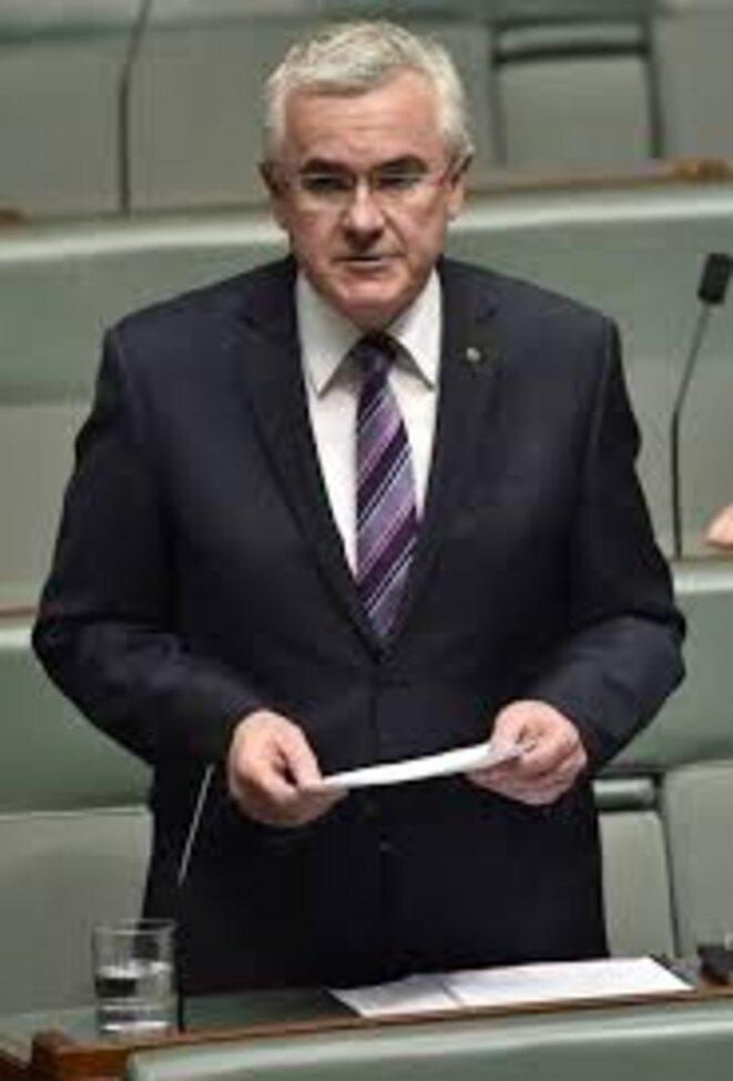 Andrew Wilkie, député à la Chambre des Représentants (groupe indépendant) et ancien officier du renseignement