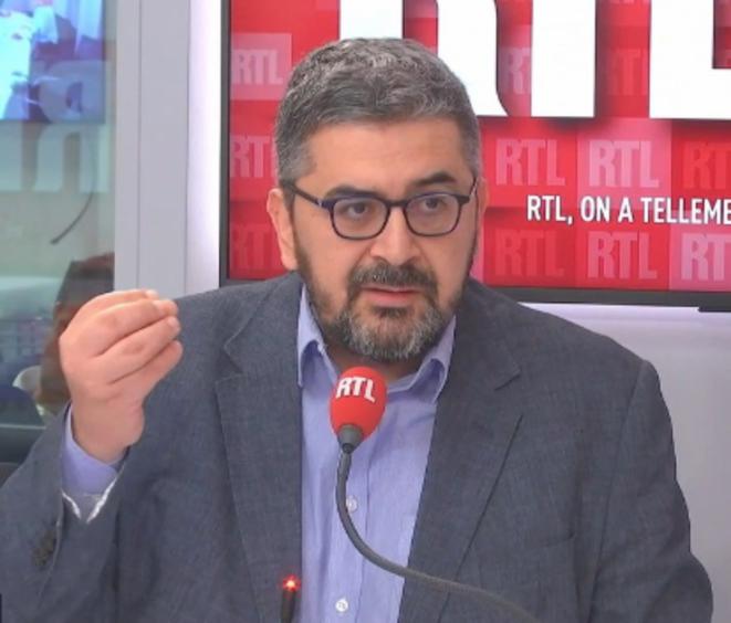 Mohammed Sifaoui sur RTL. © Capture d'écran