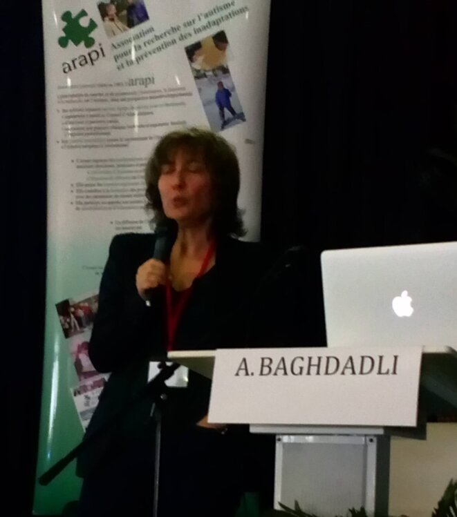 Par Amaria Baghdadli à l'Université d'Automne de l'ARAPI