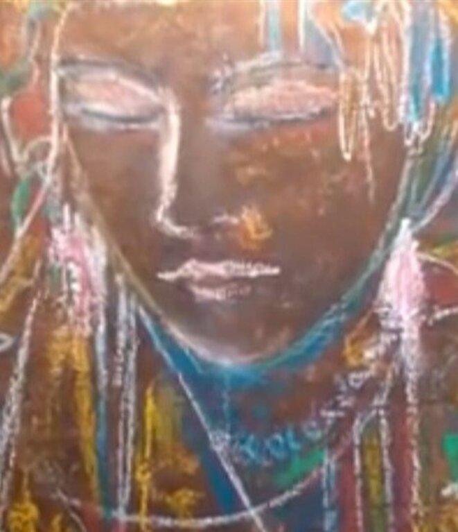 peinture de Farid Mammeri