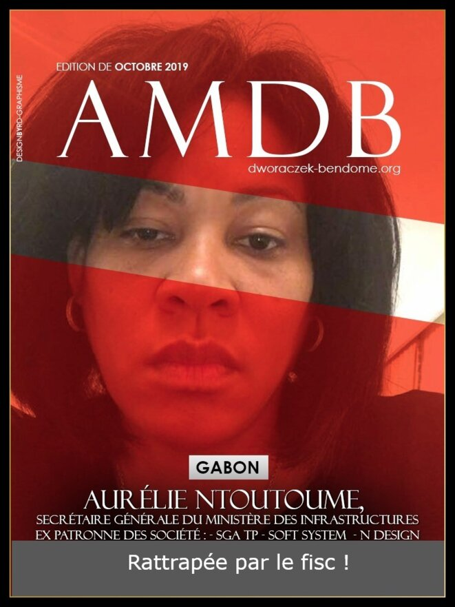 Aurélie NTOUTOUME OBAME, Secrétaire Générale du Ministère de l'Equipement, des Infrastructures et des Travaux Publics du Gabon.