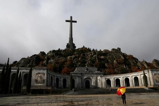 El mausoleo del « Valle de los Caídos », cerca de Madrid, el 20 de noviembre de 2018. © Reuters