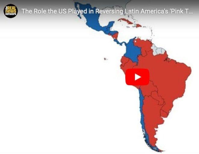 La vague rose en Amérique Latine