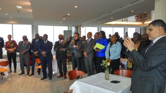 Vue de salle : amis et homologues membres d'autres délégations
