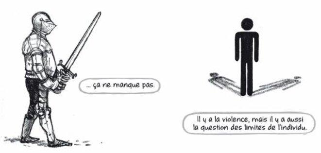 La violence et l'ombre © Mathieu Bertrand