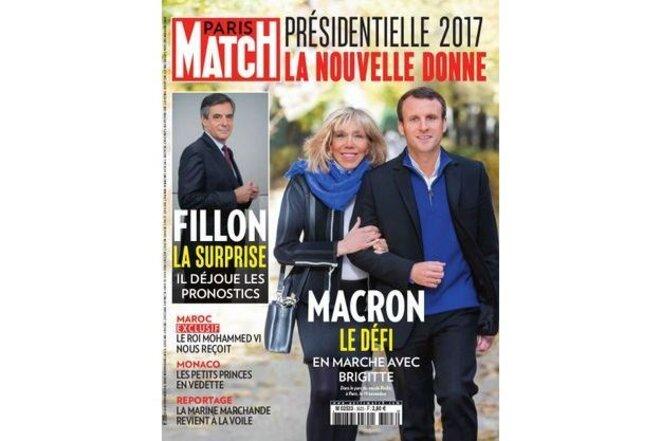 Une du Match au lendemain de la victoire de Fillon aux primaires de la droite