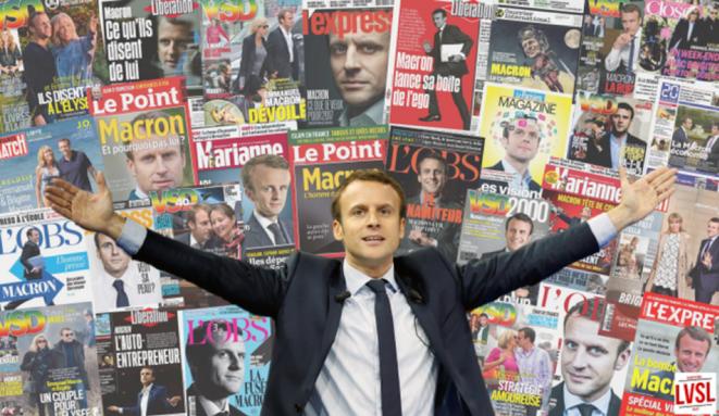 Macron – Icône politique des grands Médias