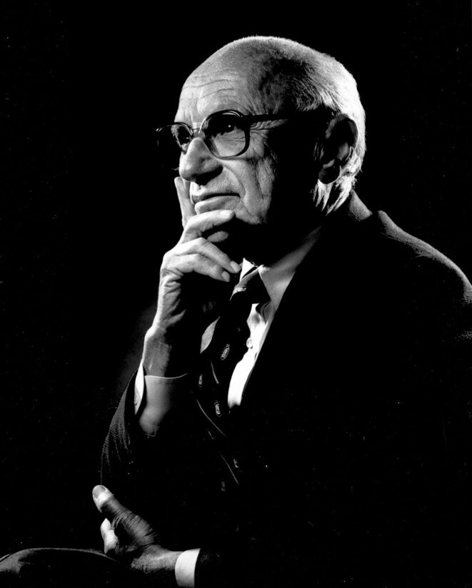 Milton Friedman. © The Friedman Foundation for Educational Choice