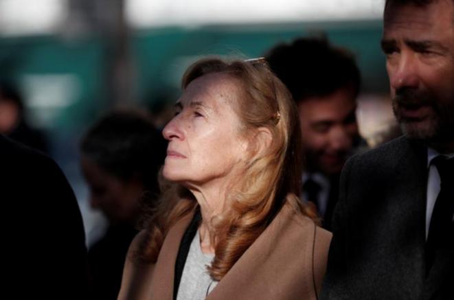 Nicole Belloubet et Christophe Castaner. © Reuters