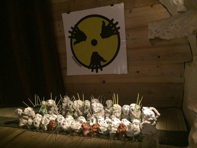 exposition Lili Oto sur les gilets jaunes © Lili Oto