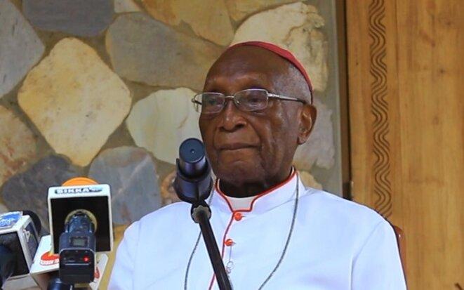 Mgr Philippe Fanoko Kpodzro, archevêque émérite de Lomé