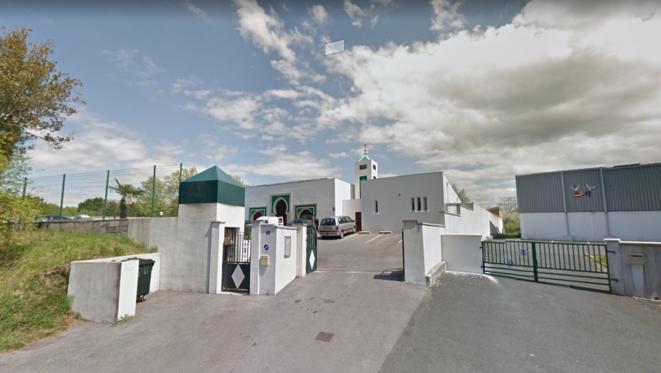 La mosquée de Bayonne. © Google street view