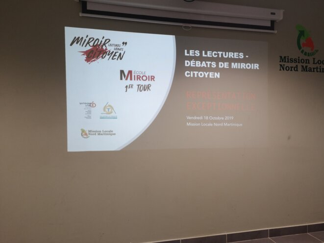 Programme MIROIR CITOYEN - 2019 - Mission locale Martinique Robert © Humanity For The World (HFTW)