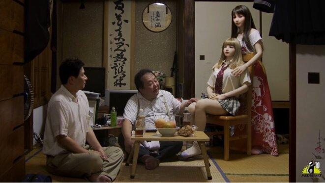 Extrait de « Tsuma Musume Haha » © Alain Della Negra & Kaori Kinoshita