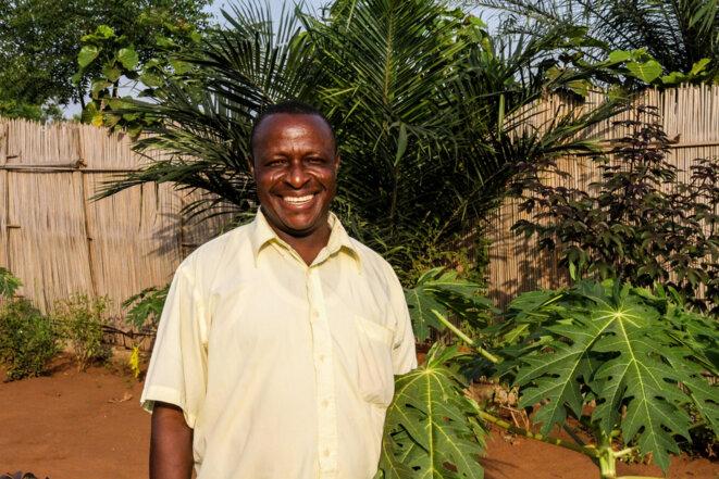 Adjiwanou Hindé, membre de l'ONG Béninoise APRETECTRA © Matthieu Delaunay