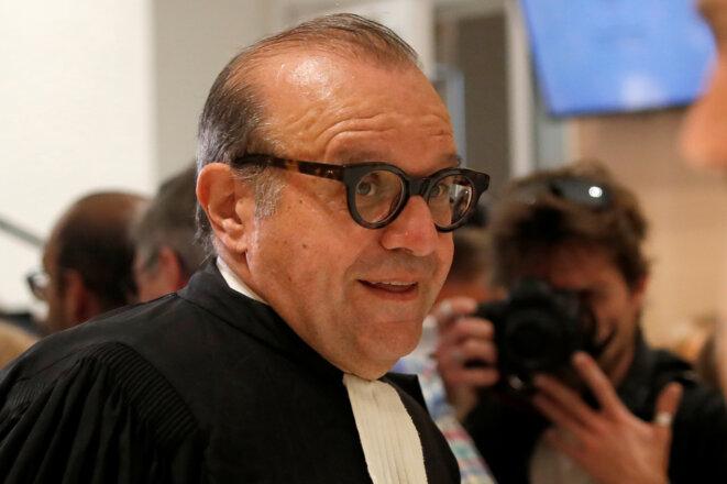 Hervé Temime, l'avocat de Nicolas Bazire. © Reuters