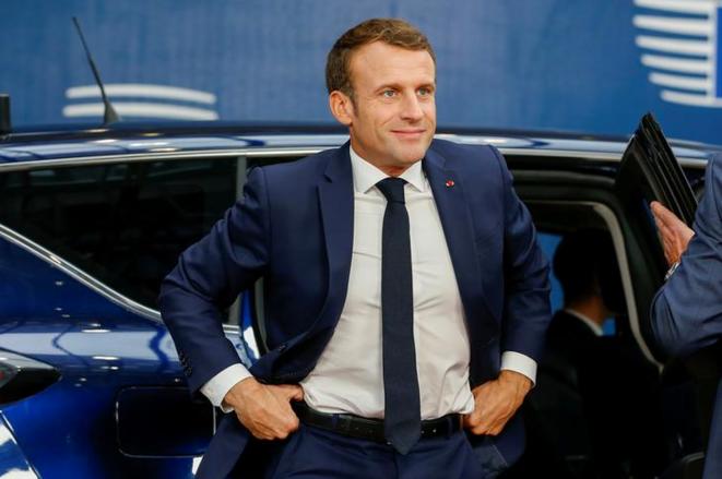 Emmanuel Macron, le 17 octobre 2019 © Reuters