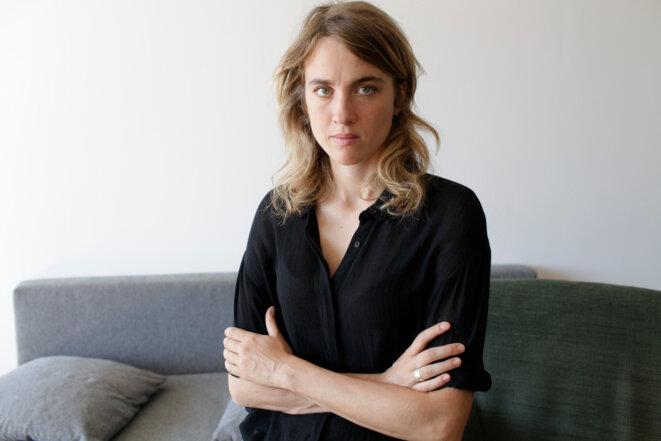 Adèle Haenel, à Paris. © Isabelle Eshraghi pour Mediapart