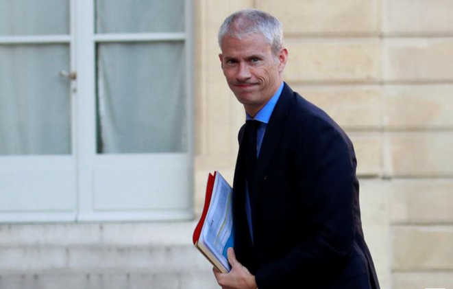 Le ministre de la culture, Franck Riester. © Reuters