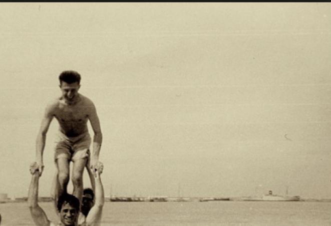 Peter Orlovsky and Jack Kerouac - Photo: Allen Ginsberg