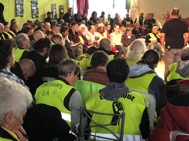 Plénière de l'Assemblée des assemblées de Montpellier. © LD