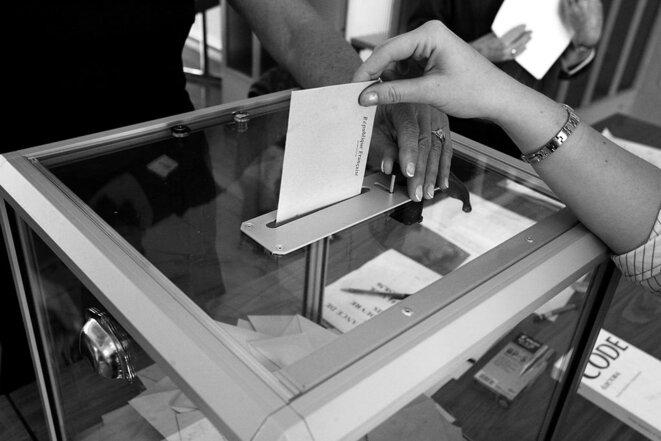 Urne électorale. © D'après Rama/Wikimedia Commons, CC-BY-SA-3.0-fr PPP
