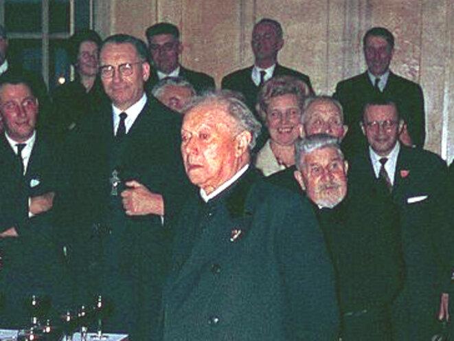 Félix Kir en 1963. © D'après «MaxRst»/Wikimedia Commons, CC-BY-SA 4.0 int.