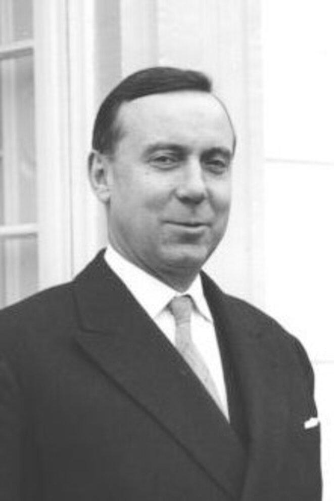 Michel Debré en 1960. © Bundesarchiv (B 145 Bild-F008808-0003/Wegmann Ludwig)/Wikimedia Commons, lic. CC-BY-SA 3.0.