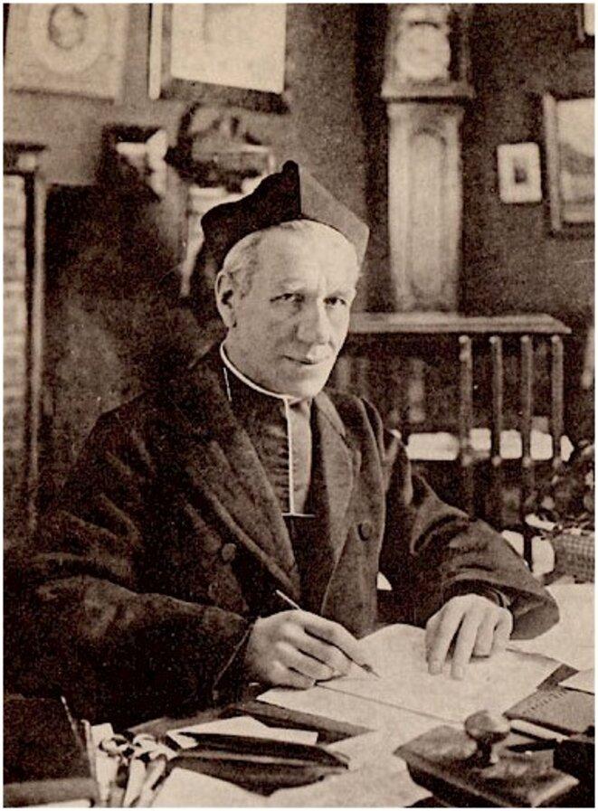 L'abbé Jules-Auguste Lemire (photo non datée). © D'après «Jmsaus»/Wikimedia Commons, CC-BY-SA 3.0.