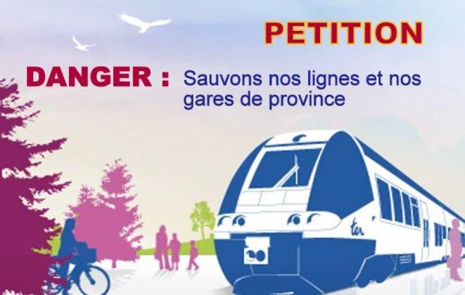 Sauve les lignes et les gares de province © Pierre Reynaud