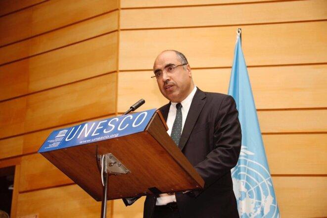 S. Exc. Monsieur Ibrahim ALBALAWI, Ambassadeur, Délégué Permanent du Royaume d'Arabie Saoudite auprès de l'Organisation des Nations Unies (UNESCO)