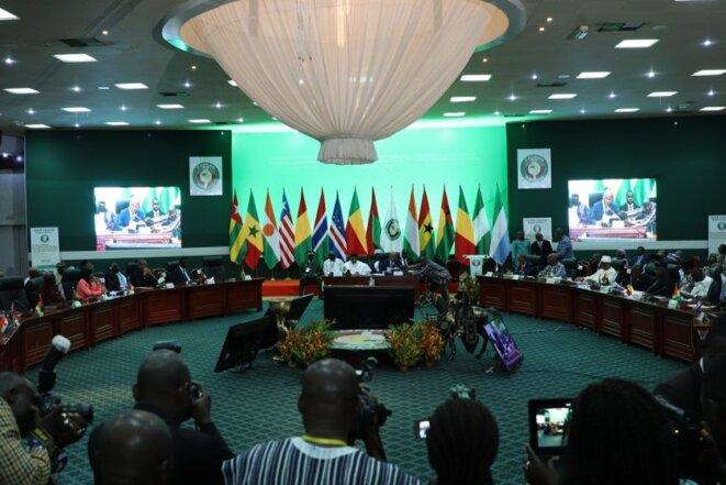 Conférence des chefs d'Etat et de gouvernement de la Communauté économique des Etats de l'Afrique de l'Ouest (CEDEAO), Ouagadougou, 14 septembre 2019
