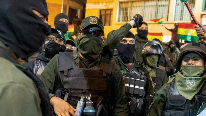 Bolivie post-elections : Mutineries armées.