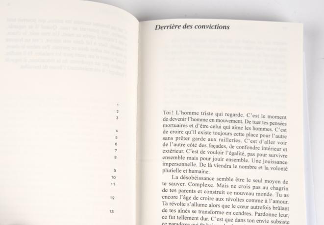 Détail édition papier du mémoire © CC Mélio Lannuzel
